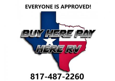 2nd Chance RV finance... BAD credit finance for RV's