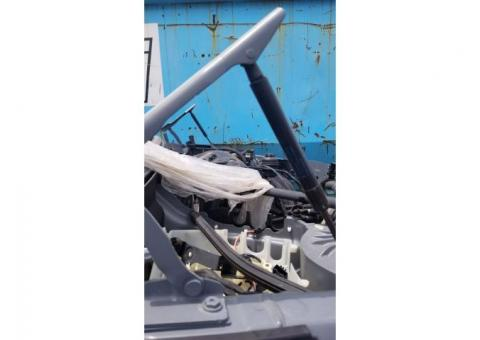 Hood Hinges, BMW 528i Pair 08-10 OE Used Gray