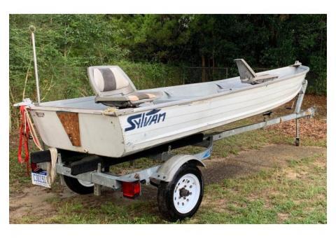 14ft Sylvan boat/trailer $1,100 obo