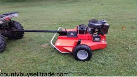 Dr power tow behind mower deck 17hp