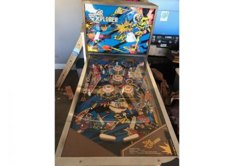 1977 Star Explorer pinball machine