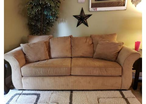Nice Microfiber Sofa