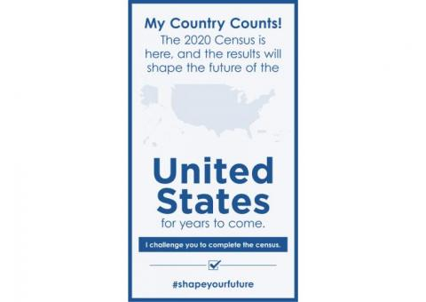 The #2020Census is here