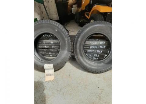 2 trailer tires