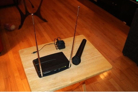 Audio-Technica Wireless Mic System