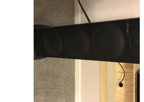 Two Pioneer speakers