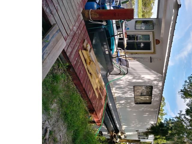 1985 Custom Hilburn Houseboat in DeLand, Volusia County, Florida